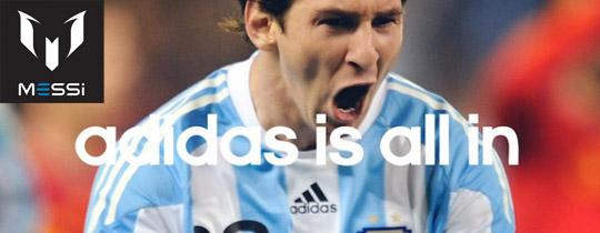 "Adidas ""está en todo"""